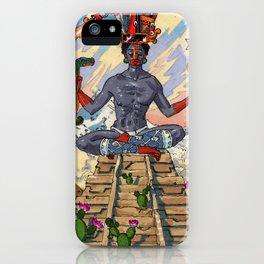 The Hermit Lyoca Tlatlatlauhtiani iPhone Case