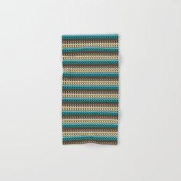 Faux single crochet stitch pattern Hand & Bath Towel
