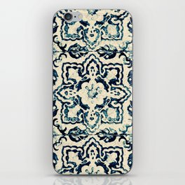 tile pattern - Portuguese azulejos iPhone Skin