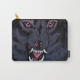 Wolf Howl Sketch Carry-All Pouch