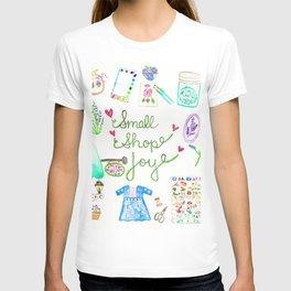 Small Shop Joy T-shirt