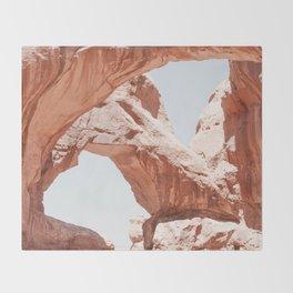 Desert Arches Throw Blanket