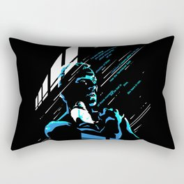like tears in rain Rectangular Pillow