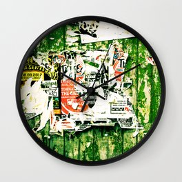 posters 2 Wall Clock
