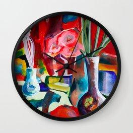Still Life 1 Wall Clock