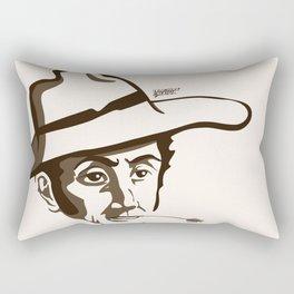 Bolívar Campesino - Trinchera Creativa Rectangular Pillow