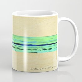 Modern Movement 001 - Corbin Henry Signed - Abstract Landscape Canvas Art - Seascape - Ocean Coffee Mug