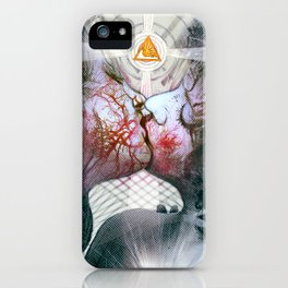 Love Is The Law iPhone Case