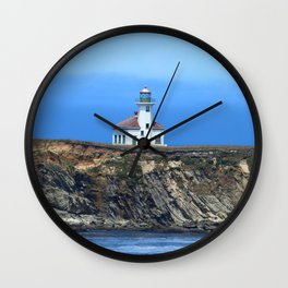 Cape Arago Light Wall Clock