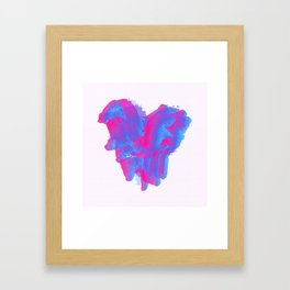 It Beats Framed Art Print