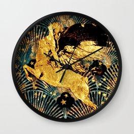 The Spirit of Art Deco Wall Clock
