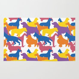 Dog Pattern 2 Rug