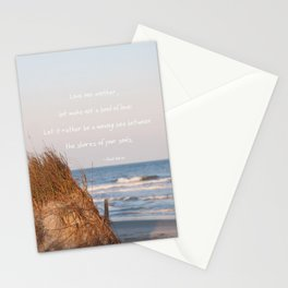 Love one another... Stationery Cards