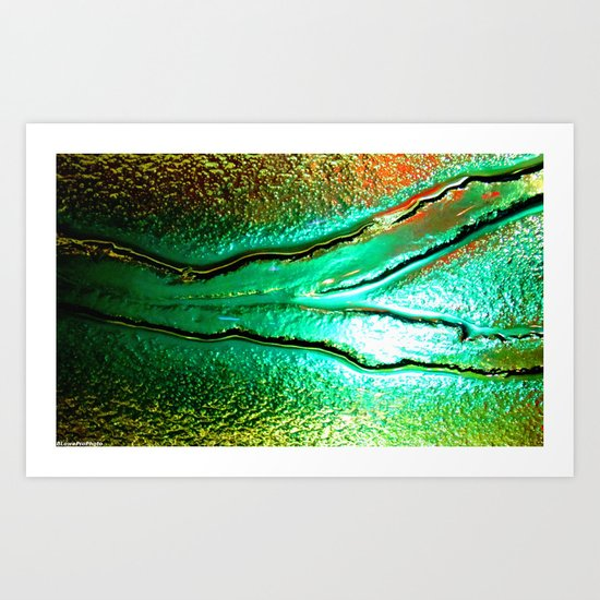 Microscopic part 2 Art Print