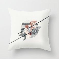 Cocodrile Throw Pillow
