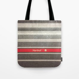 Munich U-Bahn Memories - Harthof Tote Bag