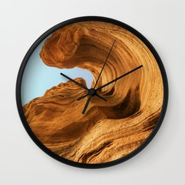 Shooting a Petrified Curl Wall Clock