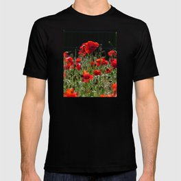 Red Poppies T-shirt