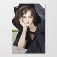 gilmore girls Canvas Prints featuring Gilmore Girls by Fairy L.