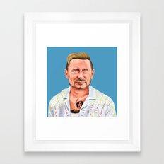 Hipstory -  vladimir putin Framed Art Print