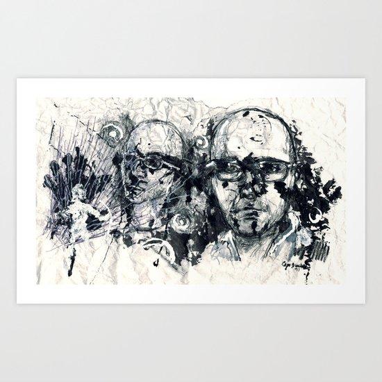 """Destroyed"" by Cap Blackard Art Print"
