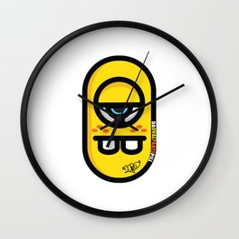..Medications (oval pants).. Wall Clock