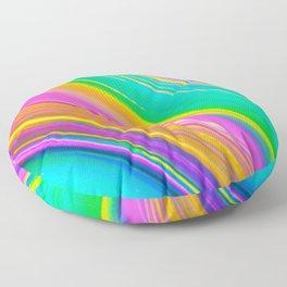 mint saturn Floor Pillow