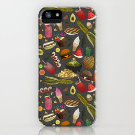 Summer BBQ Cookout iPhone Case