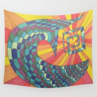 notebook Wall Tapestries featuring Did You Find What You Were Looking For? by Ana Lillith Bar