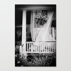 On the Veranda Canvas Print
