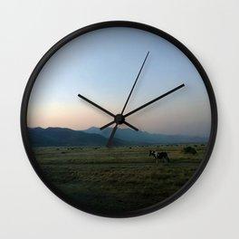 Single horse Wall Clock
