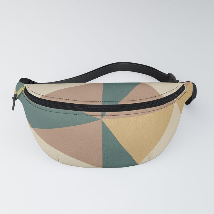 Mid Century Modern Geometric Pattern 437 Fanny Pack
