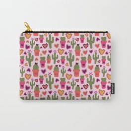 A Cactus for Valentines Carry-All Pouch