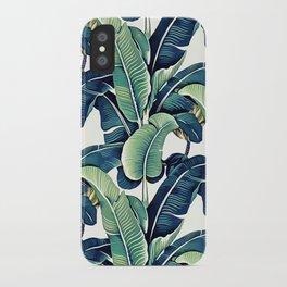 Banana leaves iPhone Case
