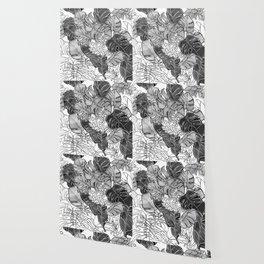 BOTANICAL MESS Wallpaper