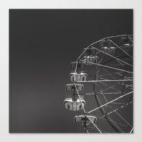 ferris wheel Canvas Prints featuring Ferris Wheel by Daniel Uzupis