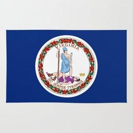 Virginia State Flag Rug