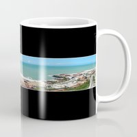 brazil Mugs featuring Natal-Brazil by Louise