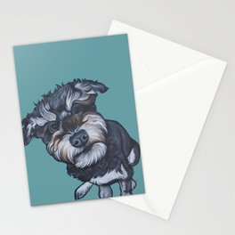 Benji the Schnoodle Stationery Cards