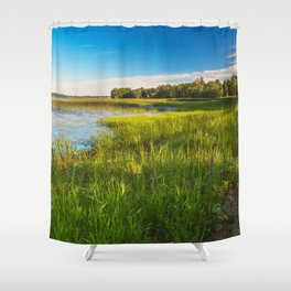 Isle La Motte Shower Curtain