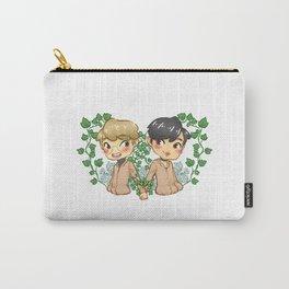 Bamjae Flowers Carry-All Pouch