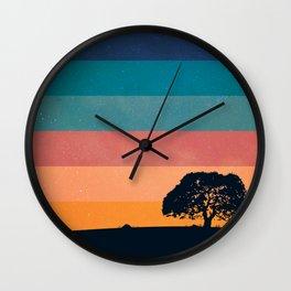 Breathe in Wall Clock