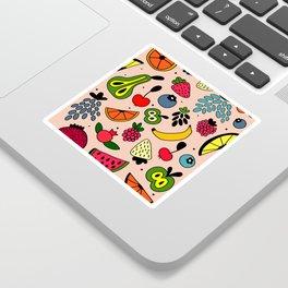 Fruity pattern Sticker