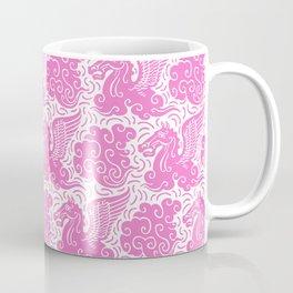 Pegasus Pattern Pink Coffee Mug