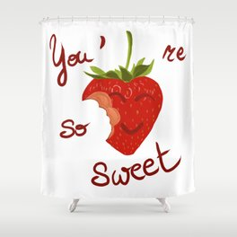 Sweet to eat / à croquer Shower Curtain