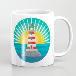 emblem lighthouse Coffee Mug
