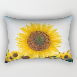 Sunflower´s Season (V) Rectangular Pillow