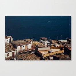 Taormina 4 Canvas Print