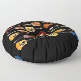 Guitars Galore Floor Pillow