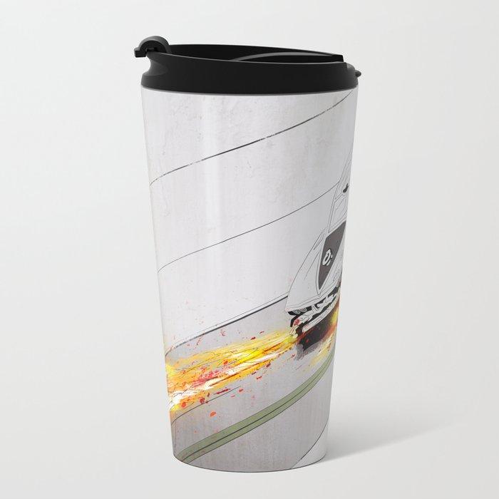 Speed King Metal Travel Mug